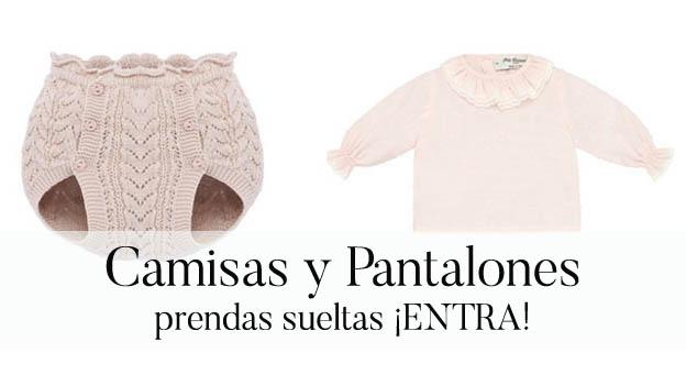 Camisas y pantalones para bebé