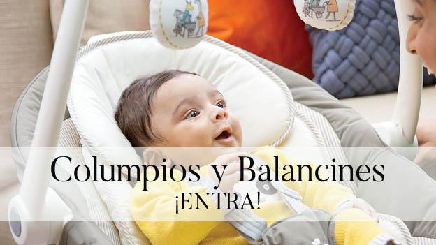 Balancines y columpios para relajar al bebé