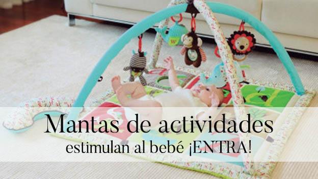 Mantas de actividades para que juegue el bebé