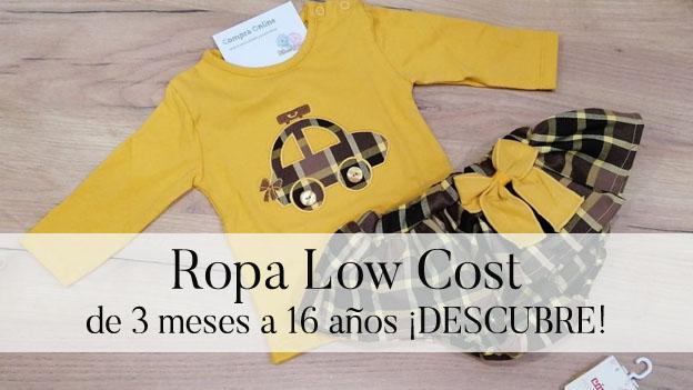 Low Cost de moda infantil