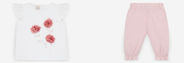 Camisas y faldas para niñas
