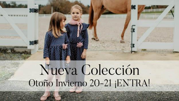 Nueva colección otoño invierno de ropa de niña