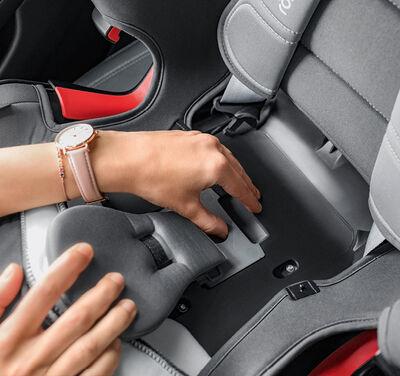 Detalles de la silla de coche Romer