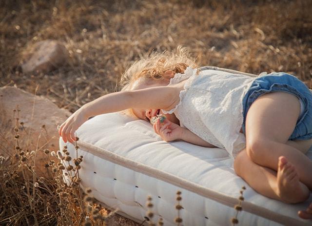 colchón de cuna natural